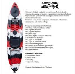 Caiaques Barracuda Profish com assento