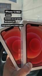 Título do anúncio: Iphone 12 64GB Novo Garantia