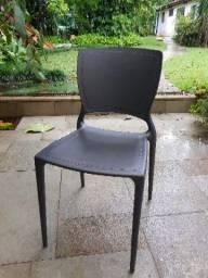 Cadeira tramontina marrom