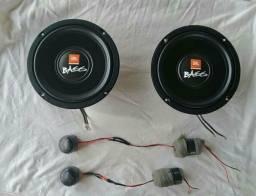 Vendo ou troco kit 2 vias JBL selenium Bass