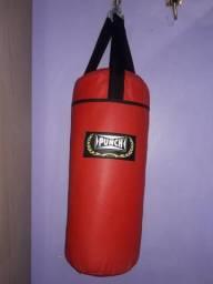 Saco de Boxe Nunca Usado R$ 85,00.Entrego!