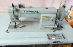 Máquina plaina industrial costura tripla