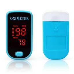 Oxímetro de dedo cor Azul  Pronta entrega
