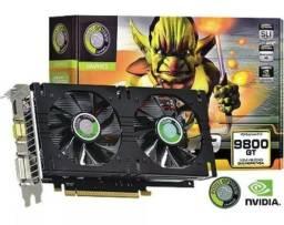 Placa De Video Geforce 9800gt 1gb Ddr3 256bits. Nuca foi usado!