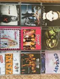 (Cds e DVDs Originais) RBD Rebelde, Rouge, Avril Lavigne, Melanie Martinez