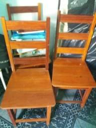 4 cadeiras de macacauba