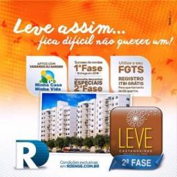 Leve Castanheiras Apto 3 Qts 54 m2 Com Varanda e Elevador !