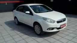 FIAT GRAND SIENA ESSENCE 1.6 16V FLEX Branco 2012/2013 - 2012