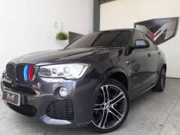 BMW X4 3.0 MI Sport 35I 4X4 24V TB 2015/2016 Cinza