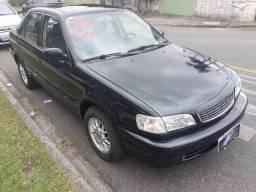 Corolla xli 1.8, gasolina, completo - 2002