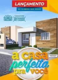 Condomínio Acqua Ville: Casa nova, em condomínio fechado