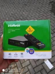 Conversor digital na caixa nunca usado