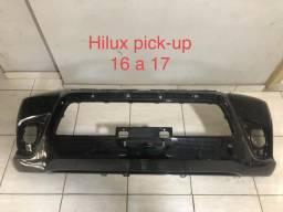 Parachoque dianteiro Hilux pick-up 16 a 17