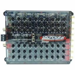 Áudio control crossover soundigital