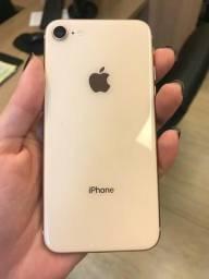 IPhone 8 gold 64G negociável