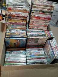 2100 DVD's de filmes e séries originais + Aparelho DVD