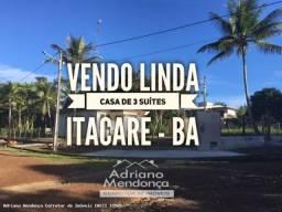 Título do anúncio: Casa para Venda em Itacaré, Residencial fechado, 3 dormitórios, 3 suítes, 4 banheiros, 1 v