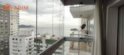 Apartamento lateral mar à venda, no edifício Imperatriz, 03 dormitórios, mobiliado, equipa
