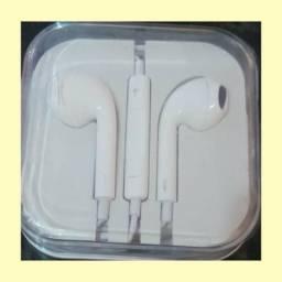 Fones de ouvido Iphone, novo, branco