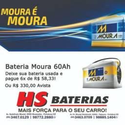 Bateria de Carro Moura 60 Ah Amperes