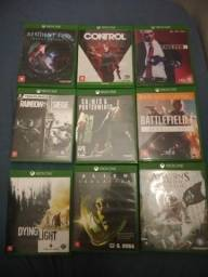 Vendo jogos originais do xbox one