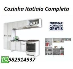 Otima Oferta!Linda Cozinha Itatatia +Balcão Com Entrega e Montagem Gratis!!