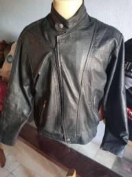Jaqueta de couro legítimo Oswal