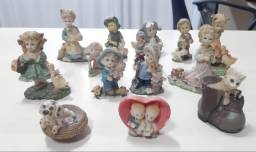 Miniaturas em resina para decoração