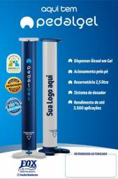 Dispensador de Álcool em Gel - Pedalgel®