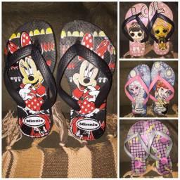 Chinelas e sandálias femininas