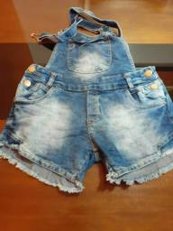 Jardineira jeans número 38