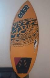 Skimboard edge surf