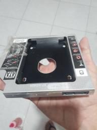 Drive Caddy  12.7 mm P/ SSD ou HD notebook