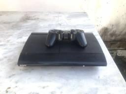 Título do anúncio: Playstation 3 com 5 jogos