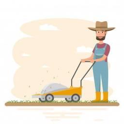 Corte sua grama conosco.