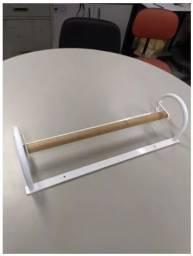 Dispenser - Suporte Para Lençol Hospitalar Parede 50cm