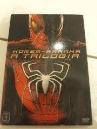 Título do anúncio: DVD trilogia Homem Aranha