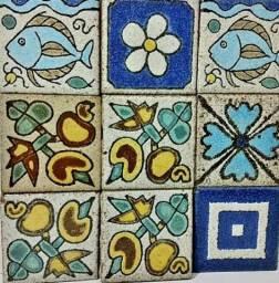 Brennand Painel Cerâmica Decorada