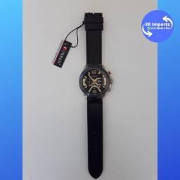 Título do anúncio: Relógio masculino esportivo de couro - Curren