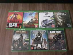 Jogos Xbox one mídia física