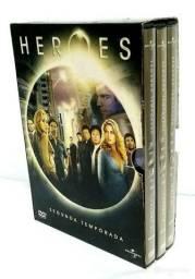 BOX DVD HEROES SEGUNDA TEMPORADA COMPLETA