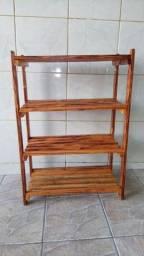 Título do anúncio: Sapateira de madeira