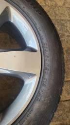 Jogo de pneu com roda jeep grandcherokee