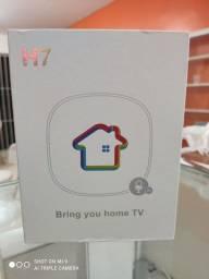 Tv box novas originais com garantia de 3 meses