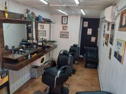 Barbearia Container completa