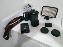Canon Eos 60d Dslr Cor Preto + Lente 18-135 + Duas Baterias