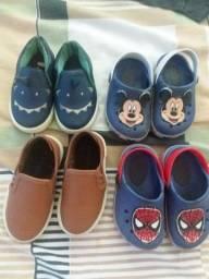 Sapatos e sandalia infantil