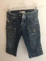 Título do anúncio: Bermudão jeans infantil Diesel