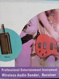 Receptor wireless pra guitarra baixo violao
