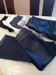 Shorts e calça flare Miller n 38  e calça 36